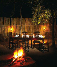 Boma,Dinner,Toro Yaka Bush Lodge,Balule Nature Reserve,Kruger National Park,Accommodation,Bookings