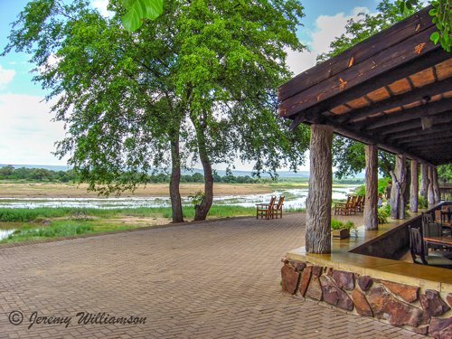 Letaba Rest Camp Restaurant deck Kruger National Park South Africa Big Five Safari