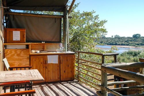 Kruger Park Lower Sabie Rest Camp Safari Tents Self Catering Accommodation