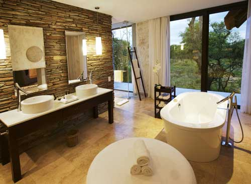 Luxury Villa bathroom - Kapama Southern Camp, Kapama Private Game Reserve